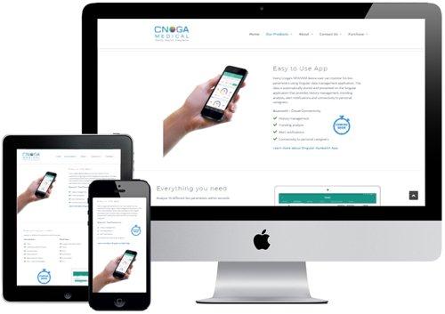 cnoga web Mockup